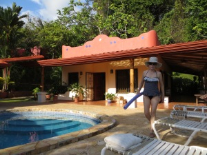 Our casita next to the pool.