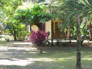 A typical Tico home in Hatillo