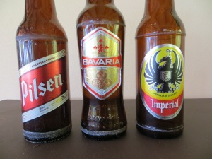 Costa Rica's main beer offering.