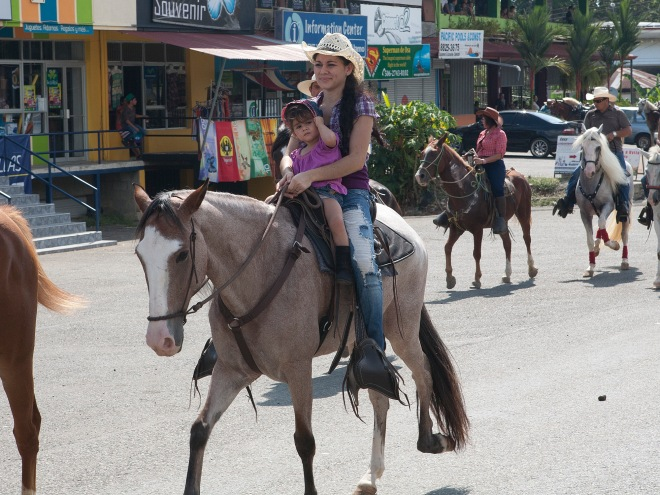 Riders of all ages took part in El Gran Tope
