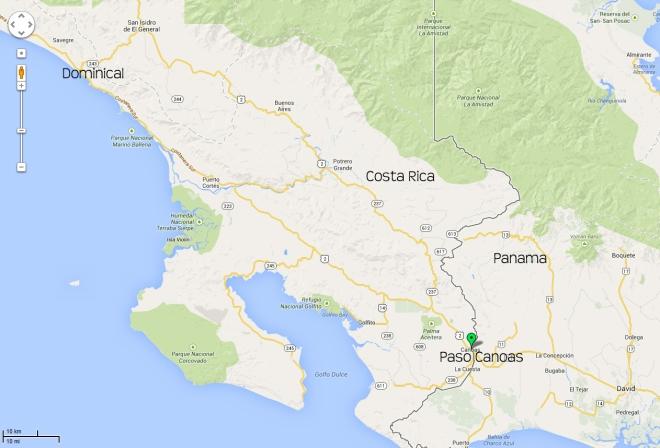 Paso Canoas Map1