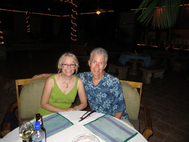 Out to celebrate at Roca Verde restaurant