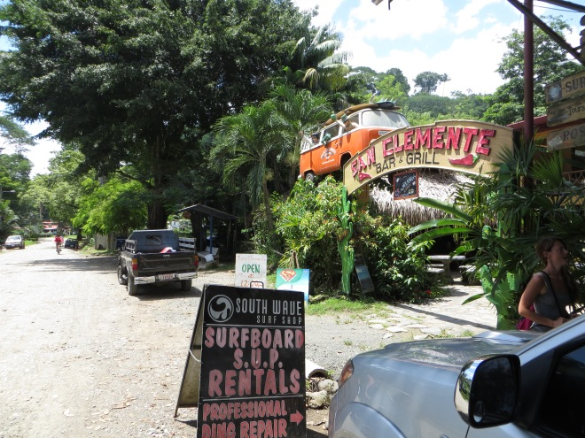 Great Mexican food at San Clemente in Dominical