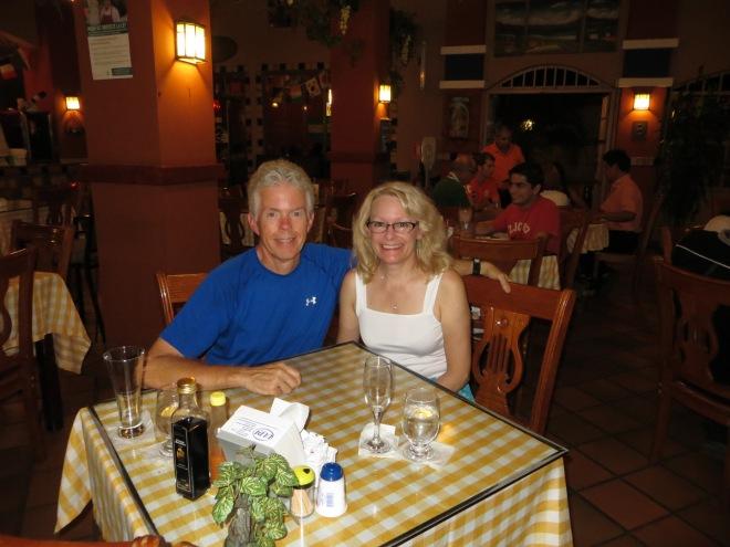 Eating at El Fagon in David
