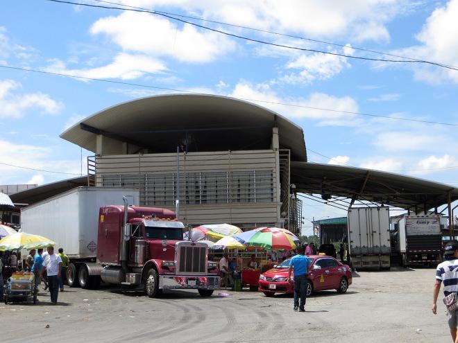 Panama Boarder Control building