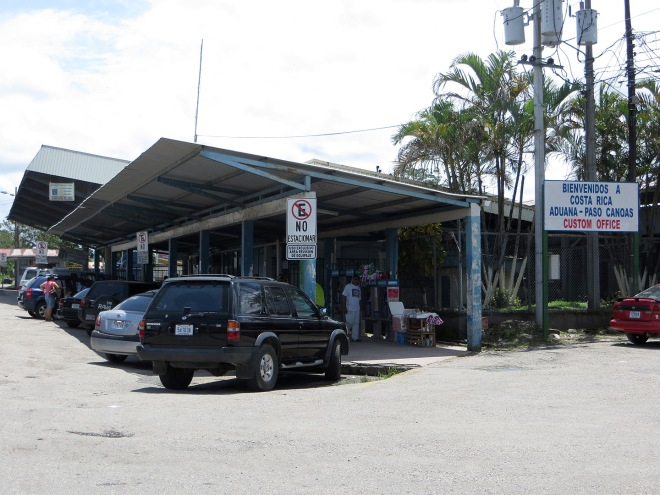 The Costa Rica Border Control station