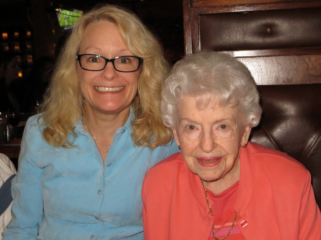 Gammy & I...she is going strong at 97!