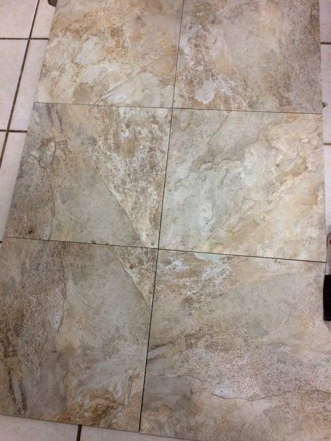 This is the primary floor tile we are using through most of the house.